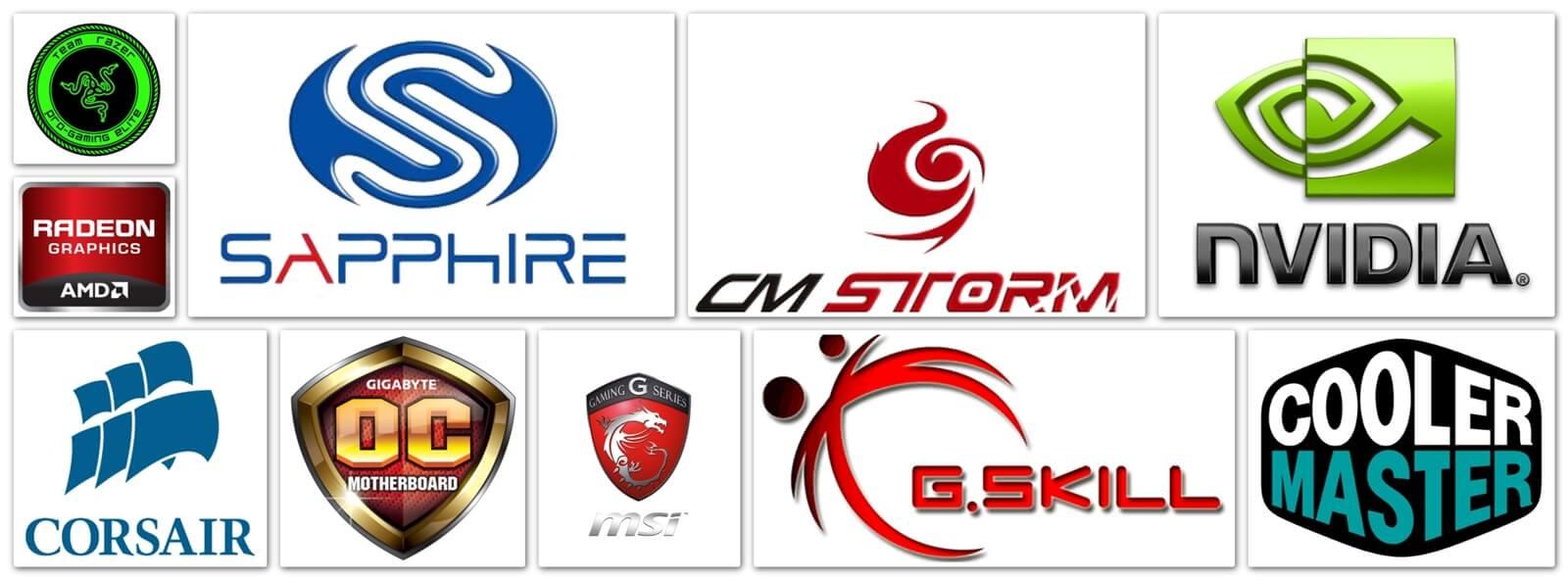 Gaming Computer Companies Logo