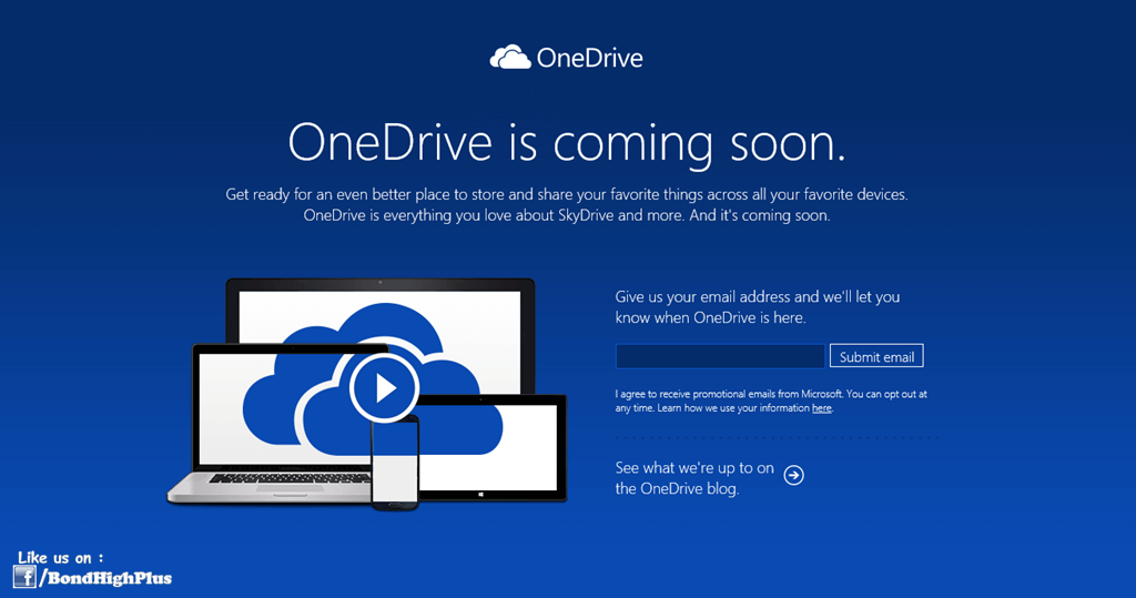 SkyDrive renamed to OneDrive
